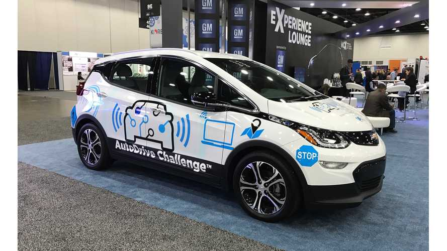 Chevy Bolt EVs Will Get Self-Driving Tech In New AutoDrive Challenge