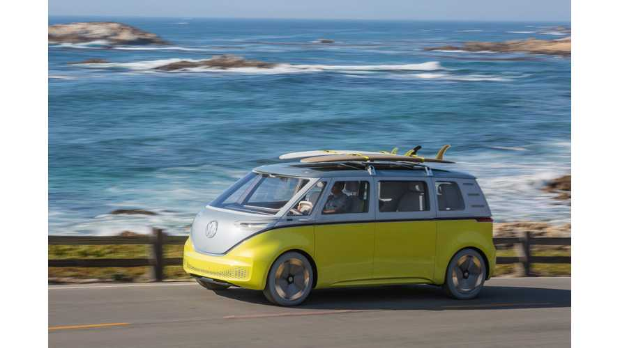 CEO Of Volkswagen Commercial Vehicles Touts Electric I.D. Buzz