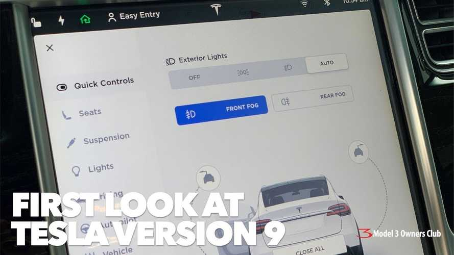 Tesla Release Notes And Media Overload For Software Version 9.0