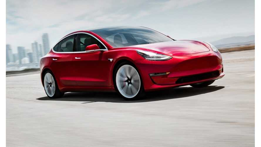 Tesla Apparently Gearing Up For Base $35,000 Model 3