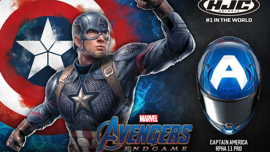 Need More Freedom? Get The New HJC Captain America Helmet!