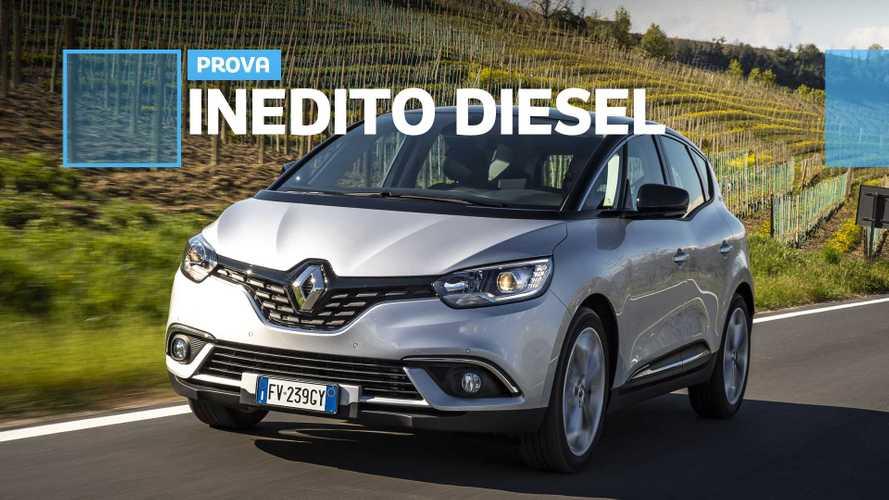 """Renault Scenic 1.7 Blue dCi, il diesel che """"sfida"""" il futuro"""