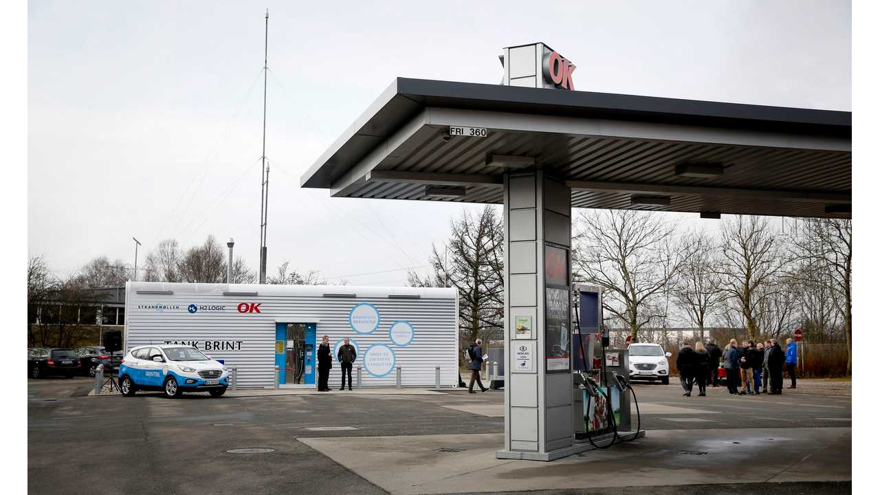With 9 Hydrogen Fuel Stations, Denmark Is 1st Country With Basic National Network
