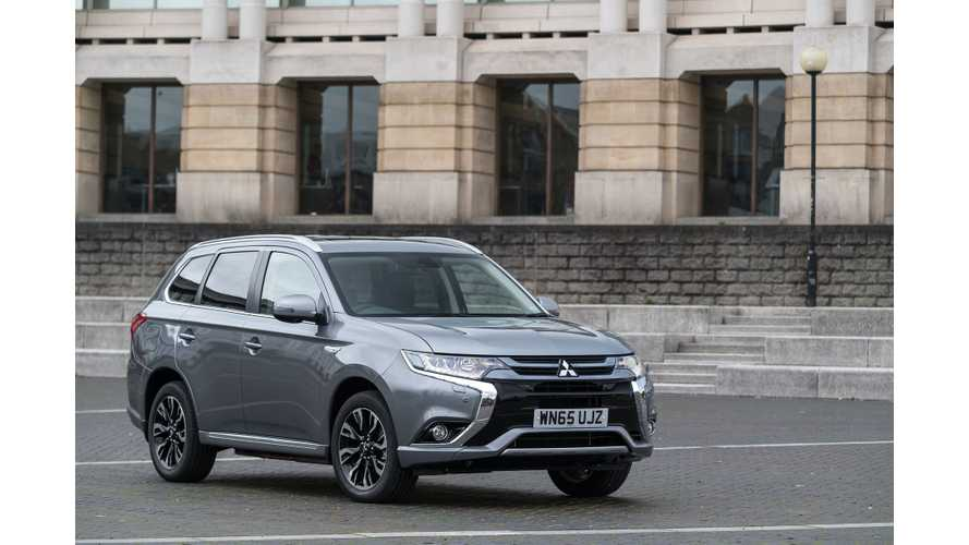 Mitsubishi CEO Thanks Outlander PHEV Buyers For Making Plug-In SUV Europe's #1 Selling Electric Car