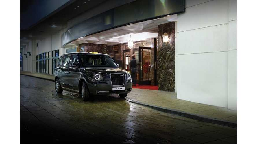 London's TX5 Taxi Gets Electrified
