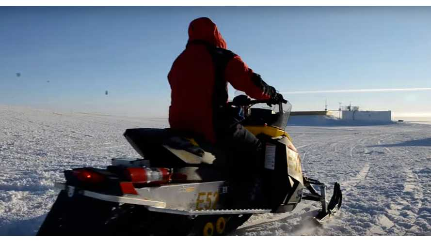 McGill Electric Snowmobile Team (video)