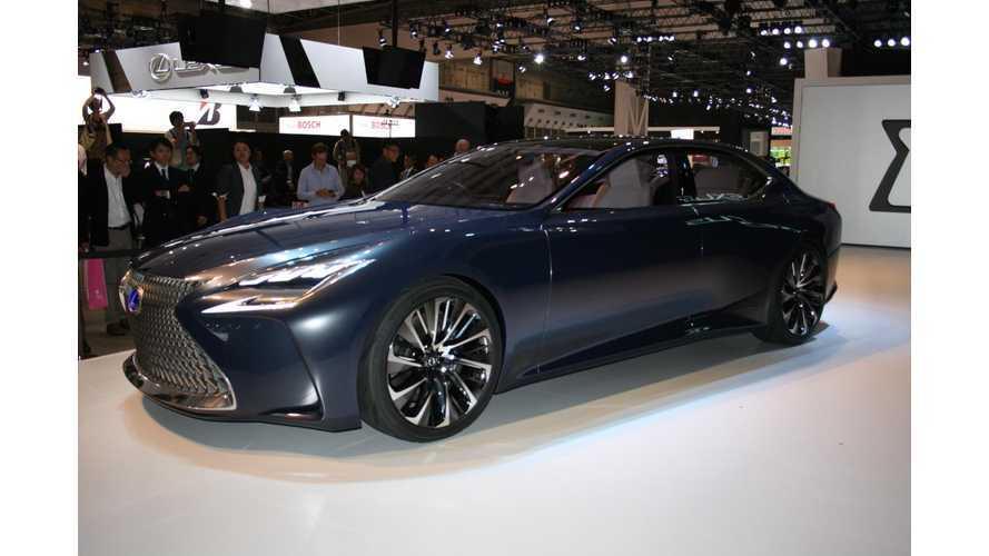 Lexus Unveils LF-FC Fuel Cell Concept