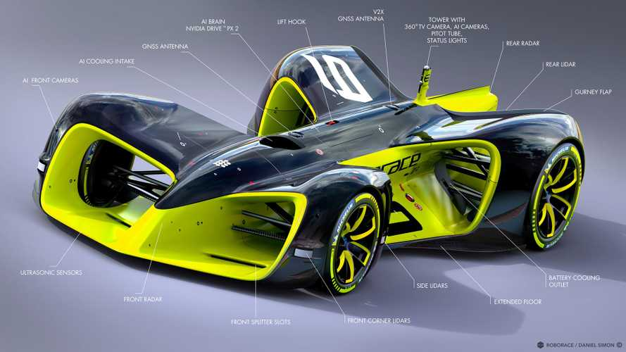 First Season Of Roborace To Feature ... Human Drivers