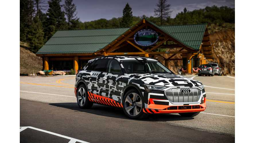 Audi Urges Norwegians To Order e-Tron Now