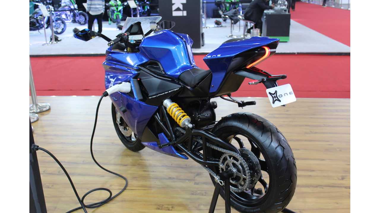Meet Emflux One: The Latest Electric Superbike