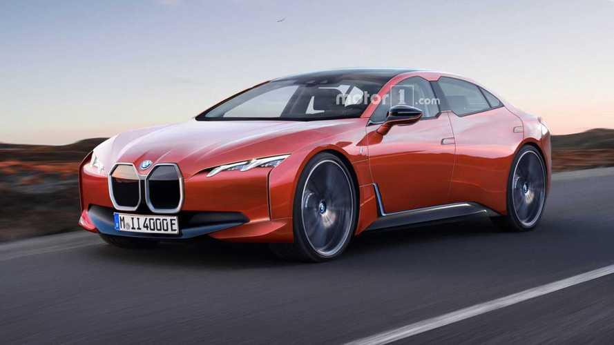 BMW i4 Rendered As 435-Mile Electric Sedan
