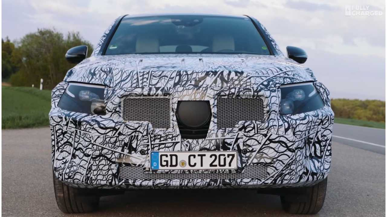 Fully Charged Rides In Mercedes-Benz EQC Prototype - Video