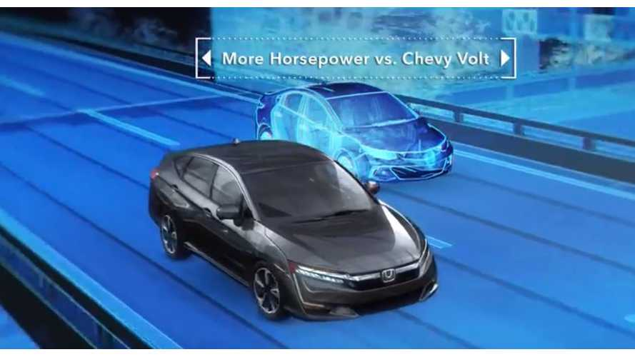 Honda Releases Clarity Plug-In Hybrid Versus Chevy Volt Video