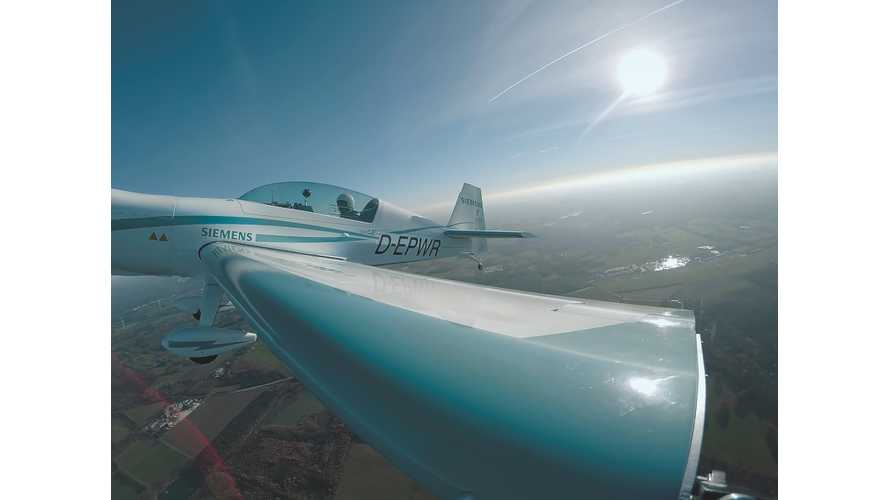 Electric Airplane Sets New Ascent Record