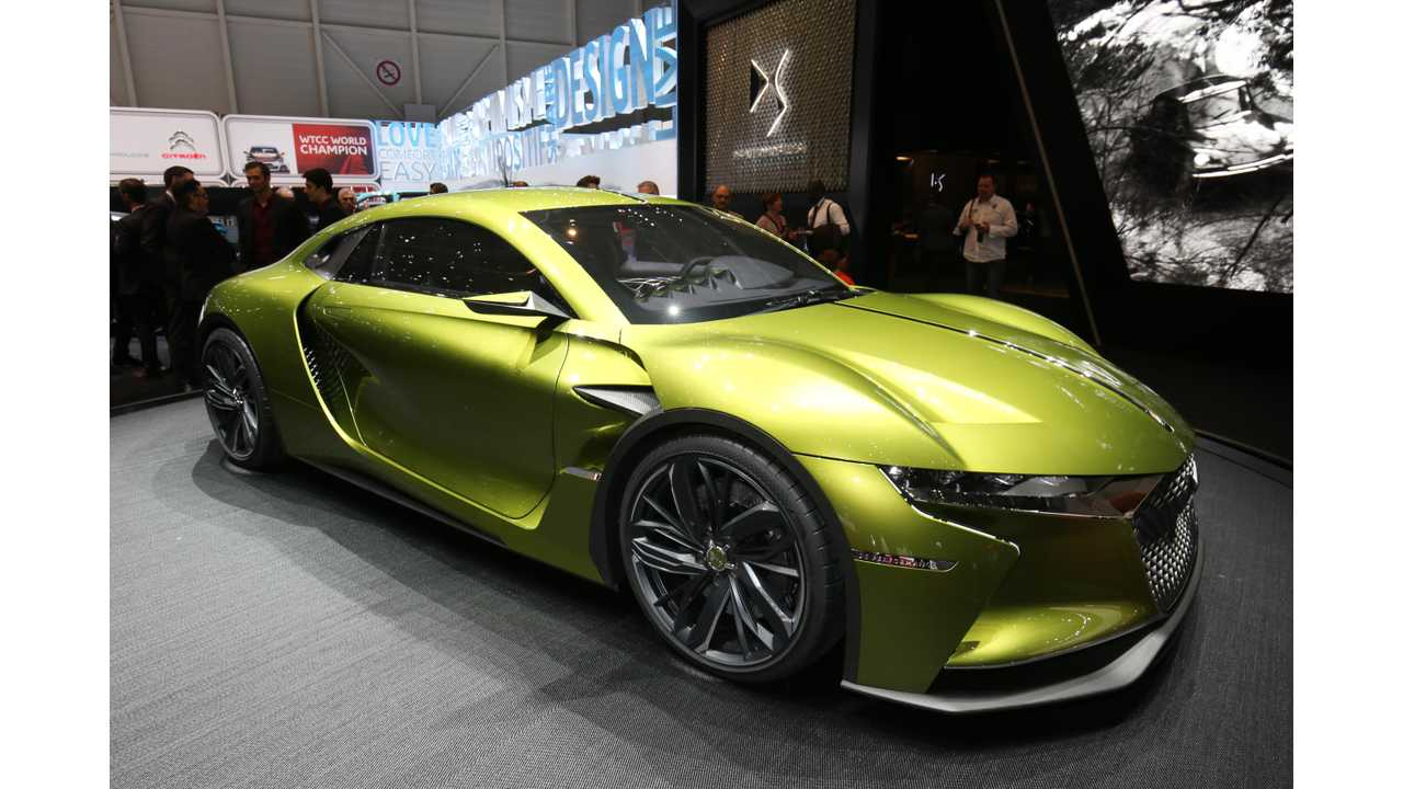 PSA's DS E-Tense Electric Supercar Inches Closer To Production