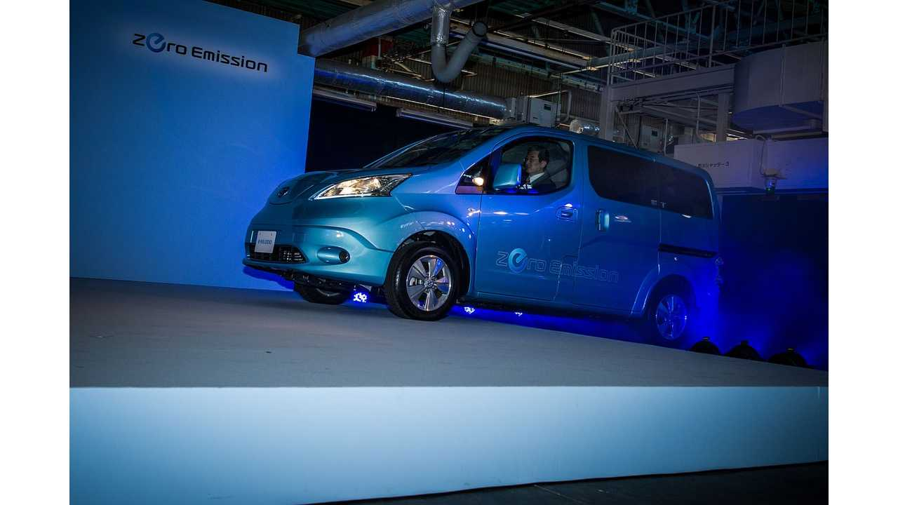 Nissan e-NV200 On Sale In Japan (w/video)