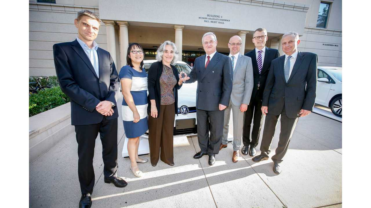 Volkswagen Provides e-Golf To Stanford University For Research