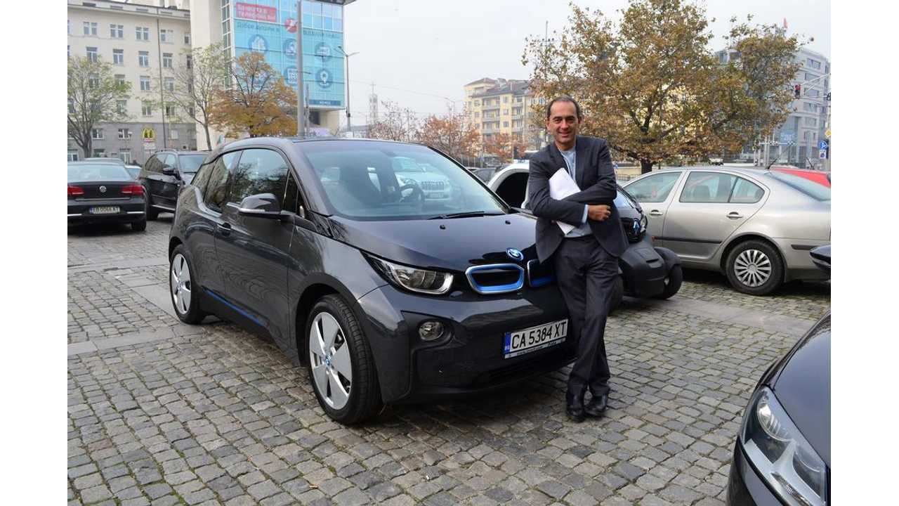 First BMW i3 In Bulgaria