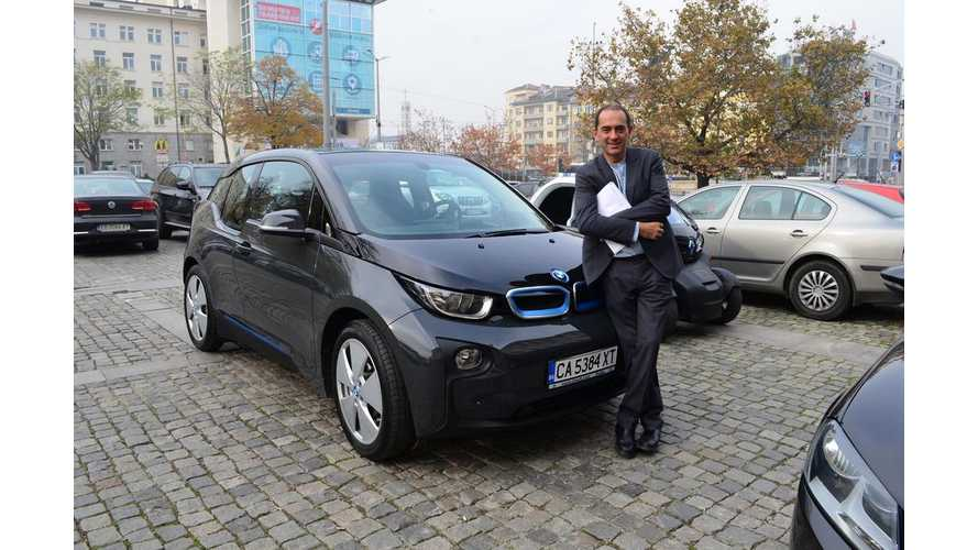 First BMW i3 In Bulgaria