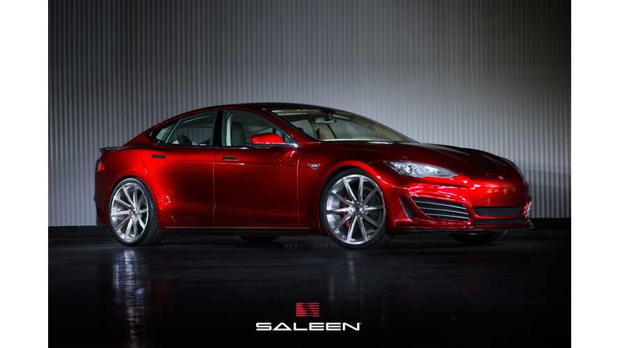Saleen FourSixteen Tesla Model S In Detail - Video