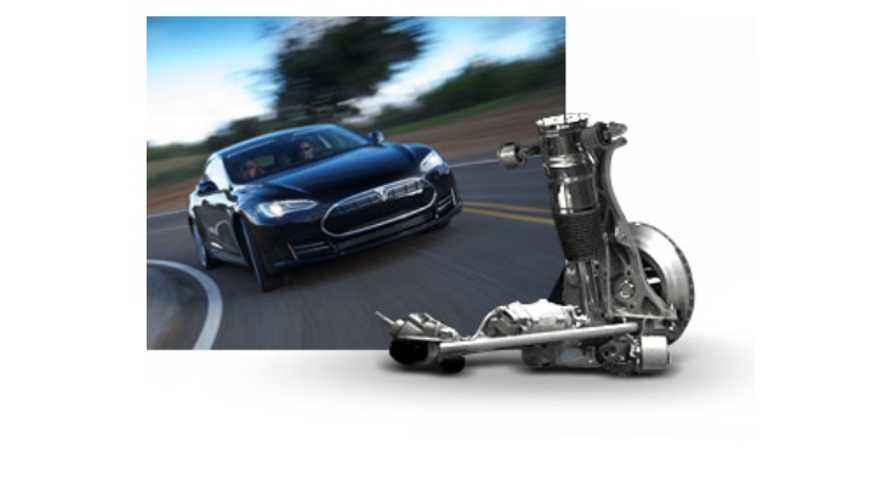 Tesla Model S Now Automatically Adjusts Suspension Height For Potholes, Driveways, Rough Roads