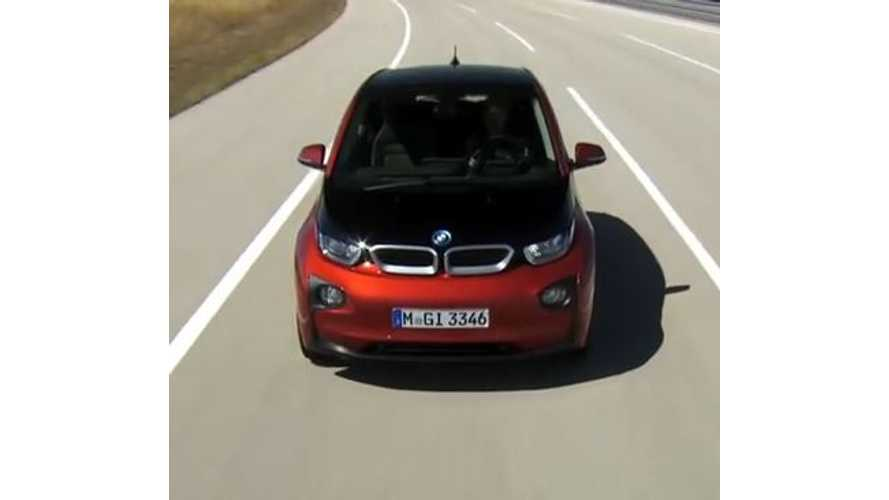 Everyman Driver Reviews BMW i3 - Video