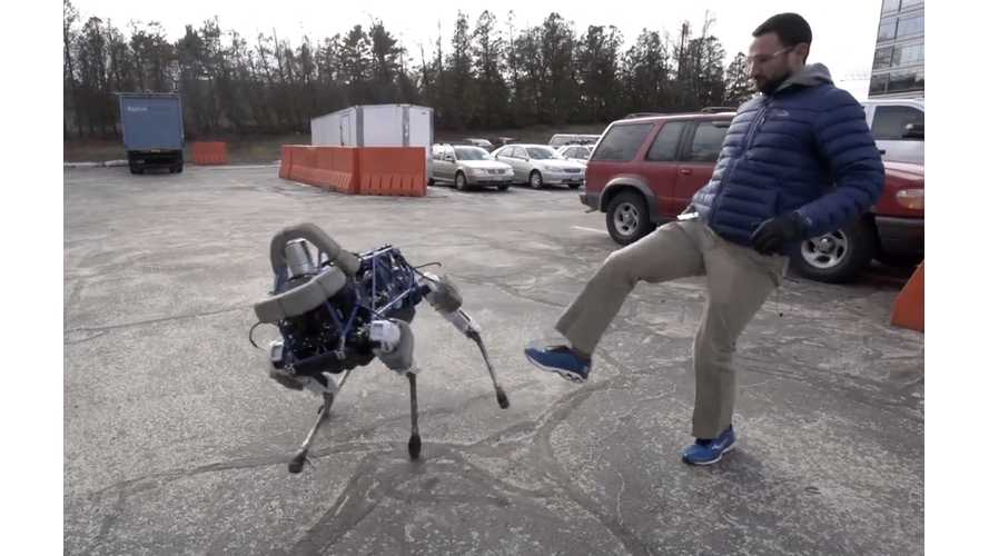 Boston Dynamics Introduces Spot, Kicks Spot, Angers Robot Overlord (w/video)