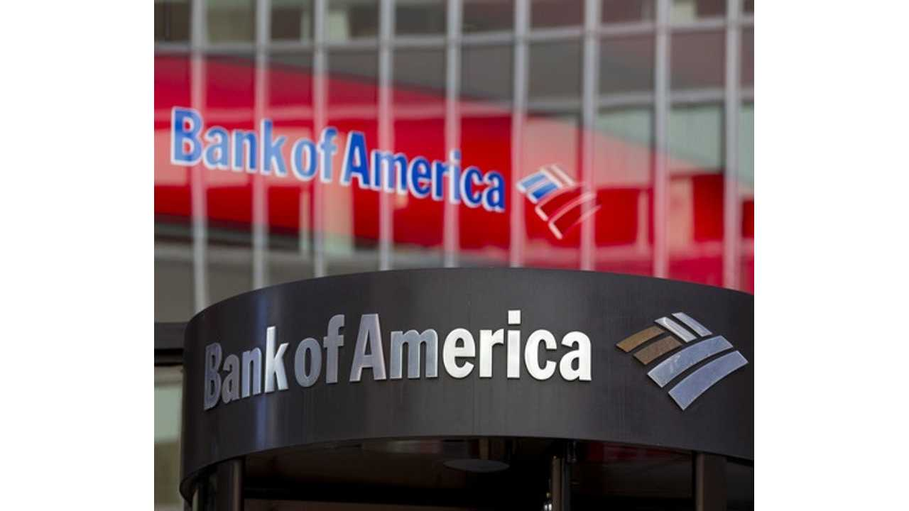 Bank Of America Offers $3,000 Incentive For U.S. & UK Employees To Go Electric