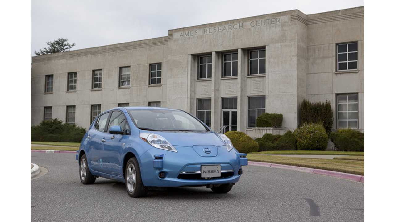 Autonomous LEAF Visits New Home At NASA's Ames Research Center Earlier This Month