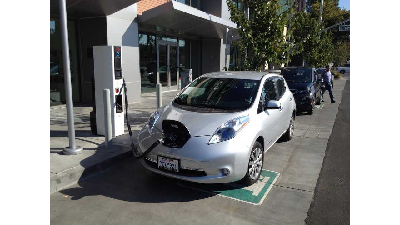 Nissan: By April 2015, 1,100 CHAdeMO Fast Chargers Are Expected To Be Operational Nationwide
