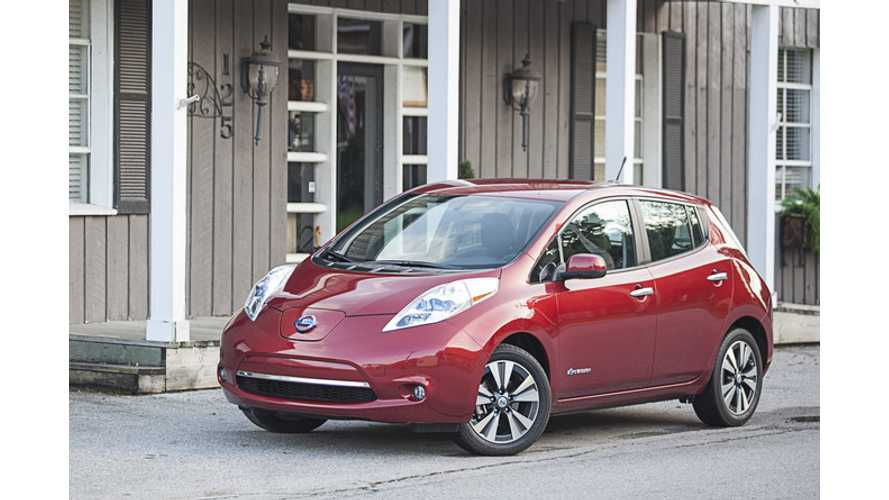 Automotive Science Group Declares Nissan LEAF Best All Around Performer In Midsize Segment