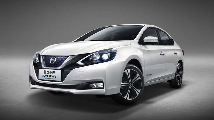 Nissan Sylphy Zero Emission Enters Production In China
