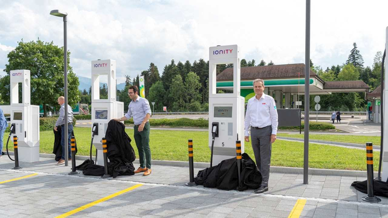 ABB Becomes Main Charging Supplier For IONITY