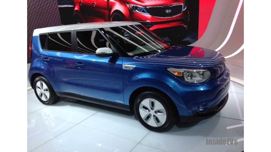 Kia Begins Export Production Of 2015 Soul EV