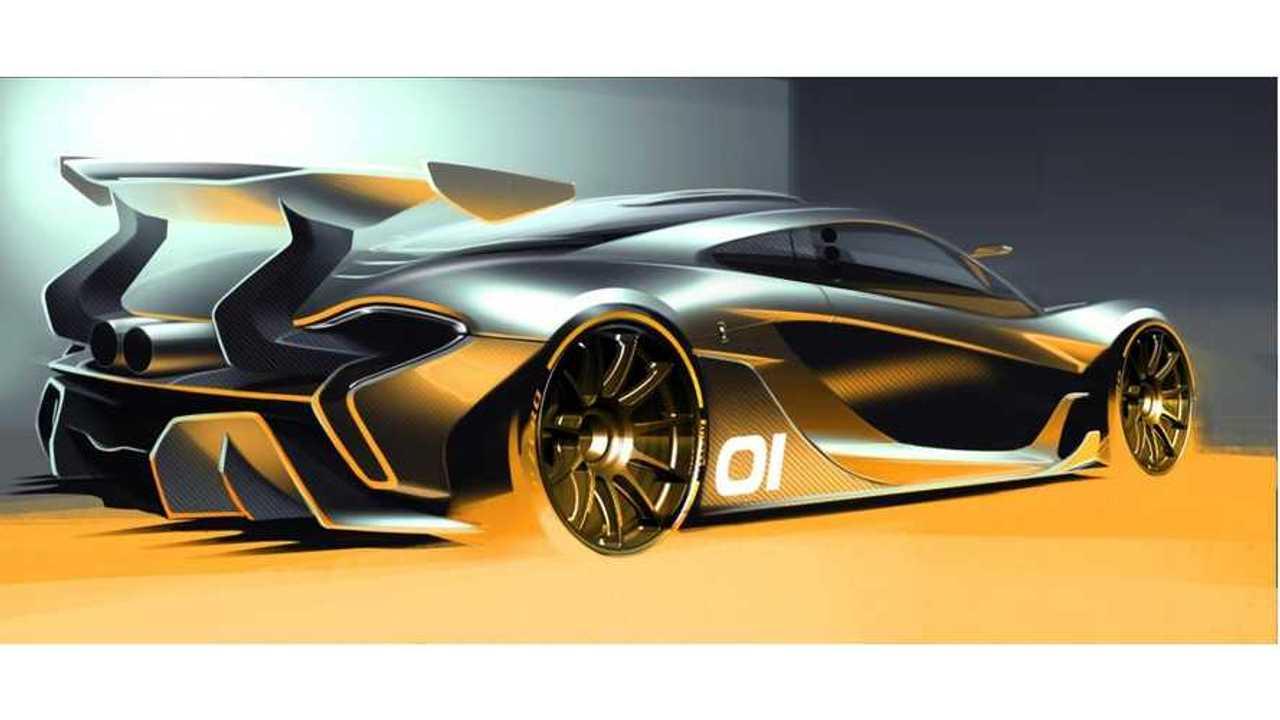 McLaren Releases P1 GTR Sketch