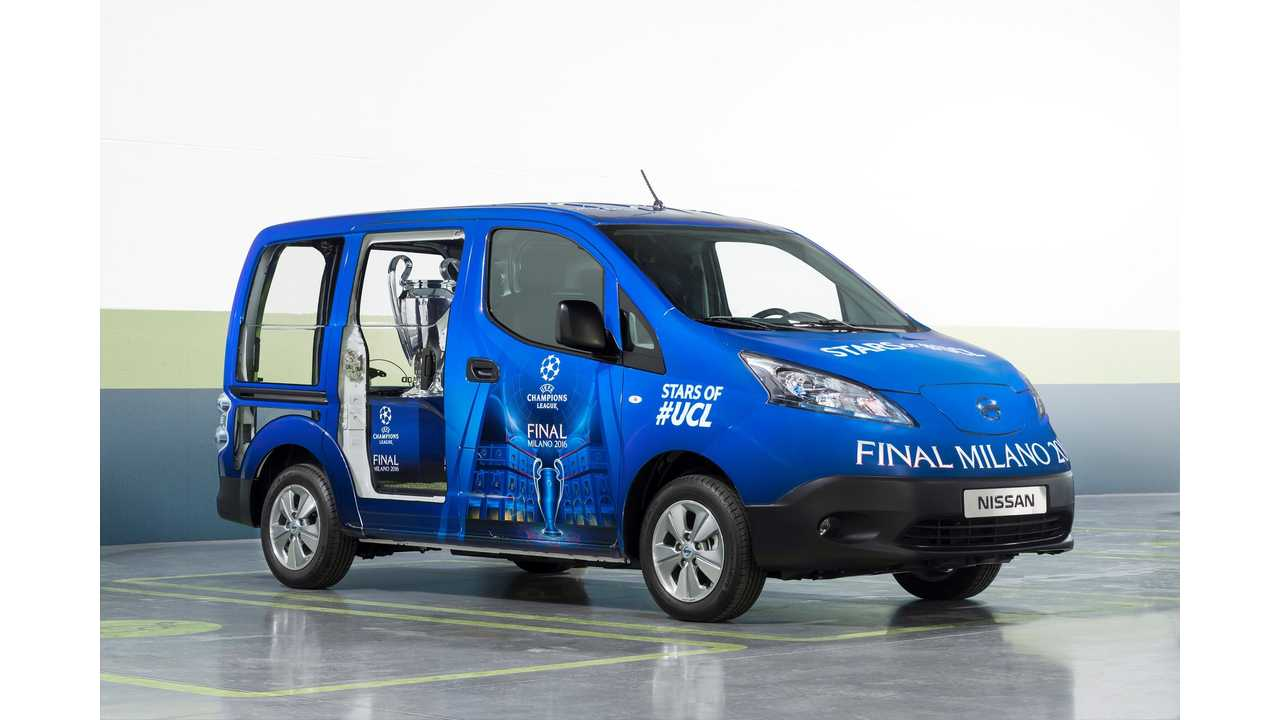 Nissan EVs Set To Electrify Milan At UEFA Champions League Final