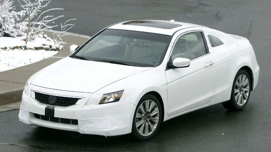 SPY PHOTOS: Honda Accord Coupe for U.S.