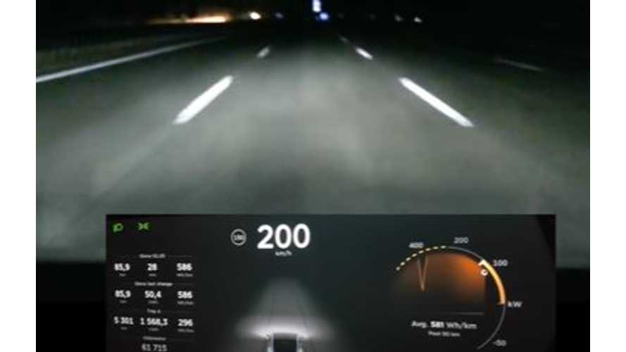 Tesla Model X Driven At 125 MPH For 40 Minutes - Video