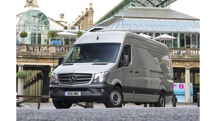 Daimler Decides On Duesseldorf For Production Of Electric Mercedes-Benz Sprinter