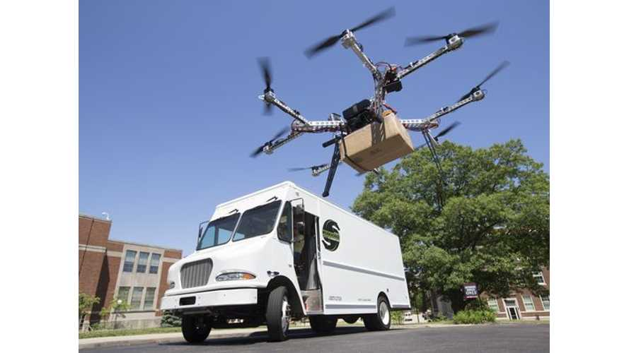 Workhorse Presents Electric Truck And Drones In USPS Bid