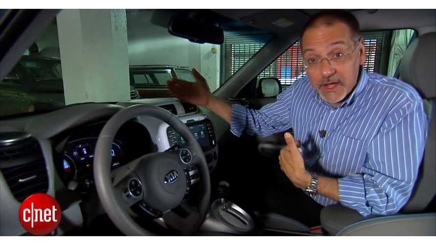 CNET Reviews Kia Soul EV - Video