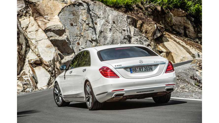 In Detail: Inverter/Converter For Mercedes-Benz S 500 Plug-In Hybrid