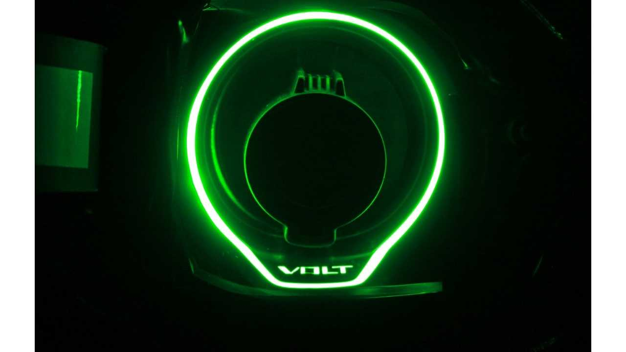 2016 Chevy Volt Illuminated Charge Port