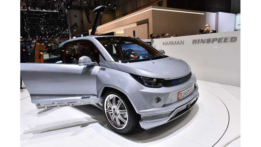 Rinspeed Budii Based On BMW i3 Revealed At 2015 Geneva Motor Show - Images + Videos