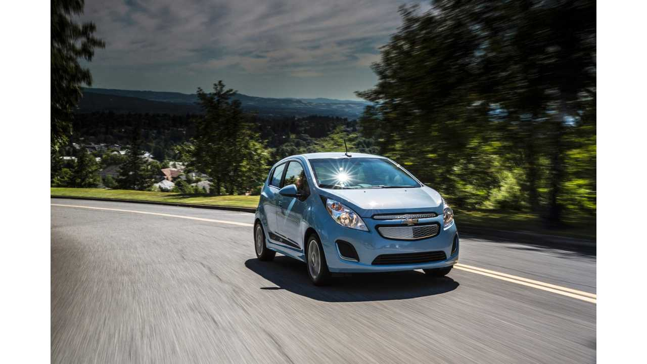 Lots Of Torque = Quick Trips To 60 MPH For The Chevy Spark EV