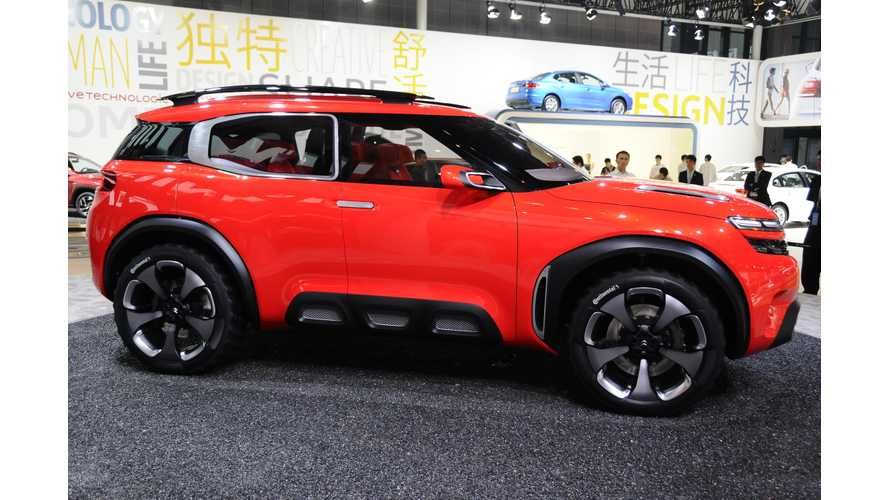 Citroen Aircross At 2015 Auto Shanghai – Photos & Videos