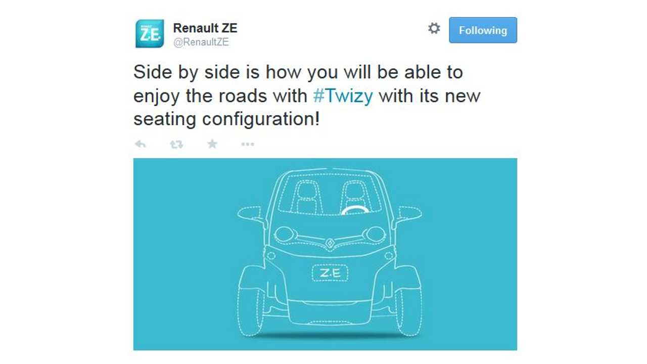 Introducing The Renault Twizy Side-By-Side