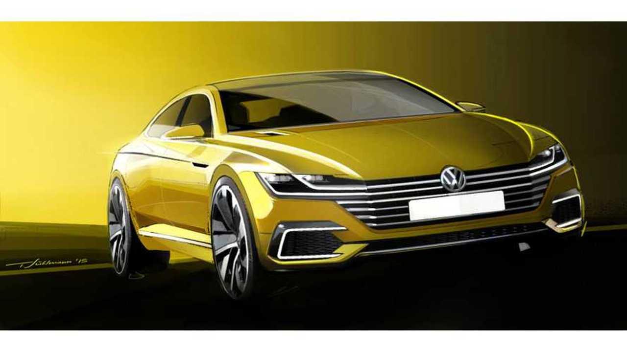 Volkswagen Shows Off Geneva-Bound Plug-In Hybrid Sedan