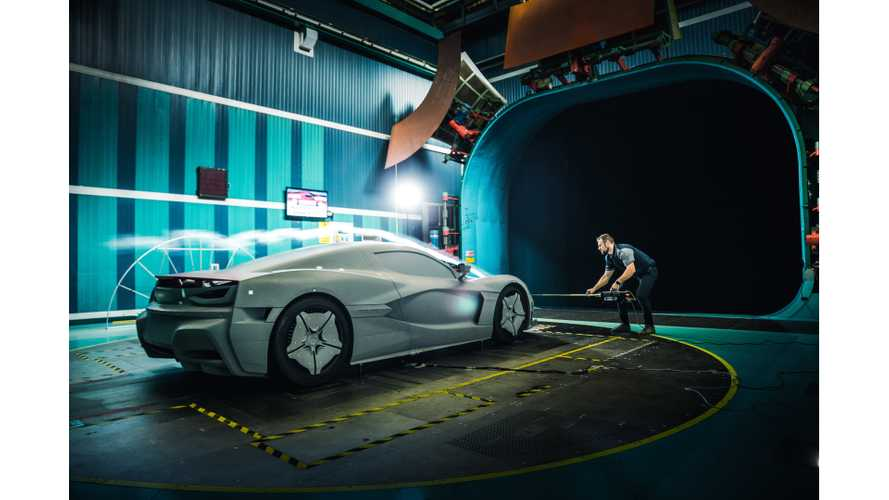 UPDATE VIDEO: See Rimac Ready Automobili C_Two For Wind Tunnel Testing