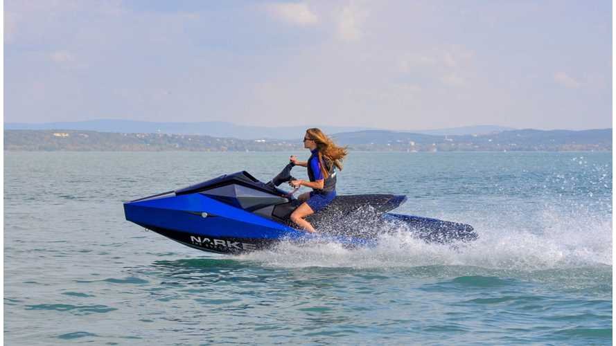 This Electrojet Electric Jet Ski Is Pure Futuristic Bliss